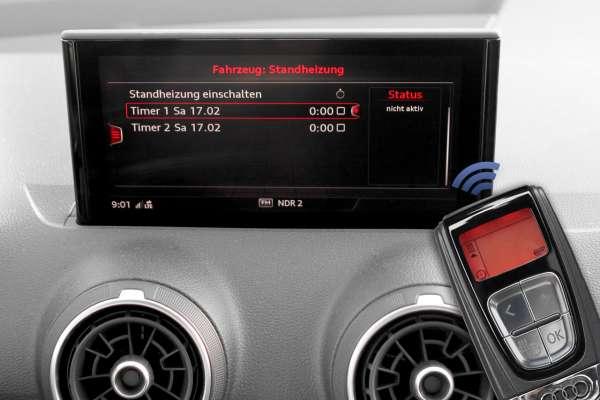 42215 - Standheizung Audi Q2 GA - TDI, Frontantrieb TDI, Frontantrieb