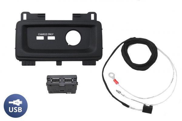43411 - Komplettset USB Hub für Audi A5 F5