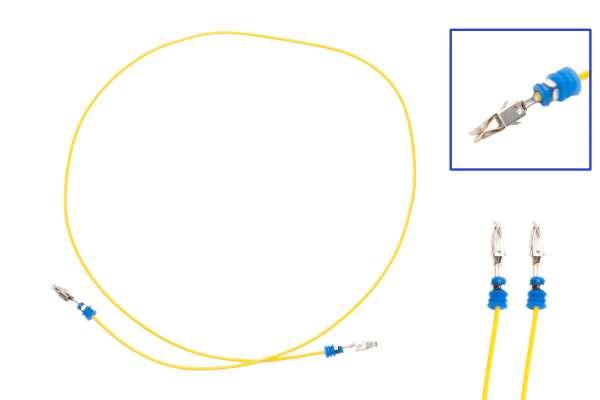 44611 - Reparaturleitung 2x JPT Seal 0.5 600mm wie 000 979 225 E + SEAL Beidseitig bestückt