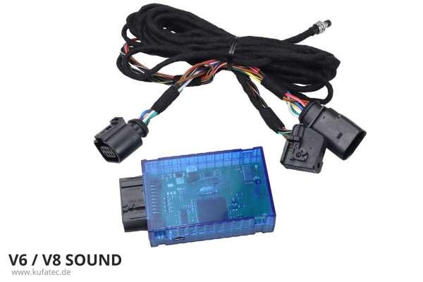 40186 - Sound Booster Pro Active Sound für Audi A4 8K, A5 8T