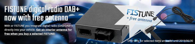 Free FISTUNE DAB+ interior antenna
