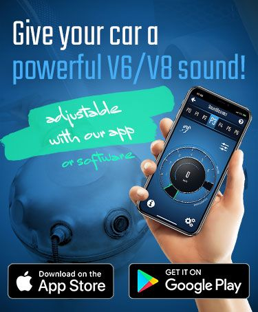 Our KUFATEC Link App is connectable with the Sound Booster