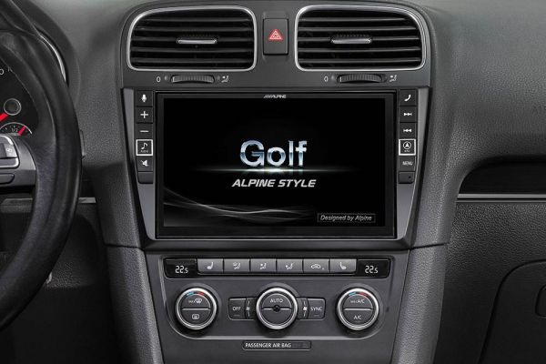 41346 - Navigationssystem Alpine Style Infotainment für VW Golf 6