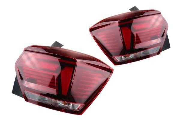 43866 - Komplettset LED Rückleuchten abgedunkelt für VW Polo AW1 Rechtsverkehr