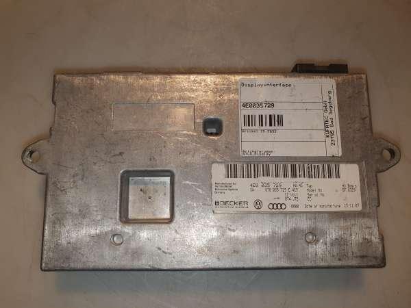 4E0035729 Interfacebox Displayfür Audi