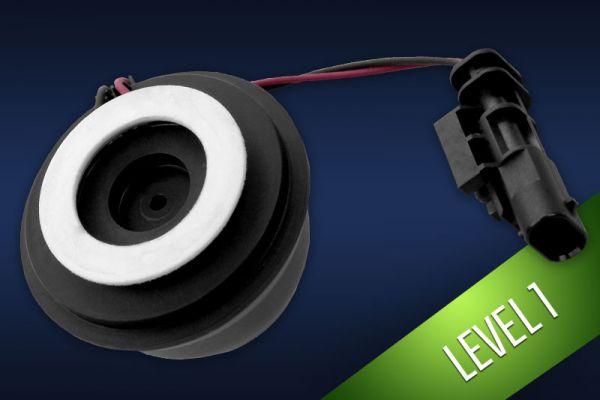 Komplettset Active Sound inkl. Sound Booster / Sound-Aktuator Mini für Tesla S P90D Level 1 - dezentes Motorengeräusch