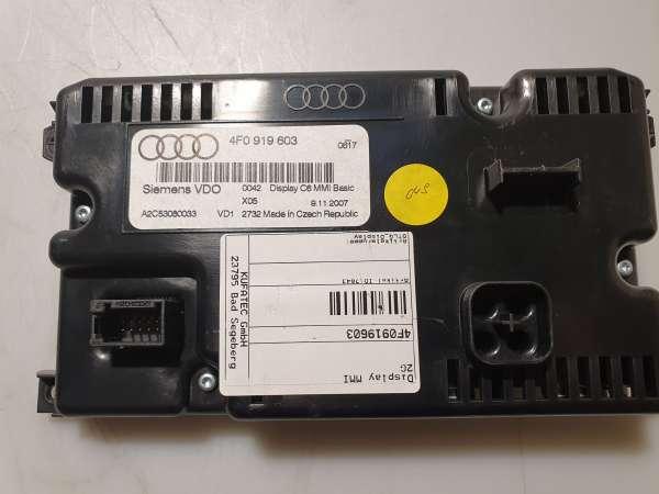 4F0919603 Display MMI 2G