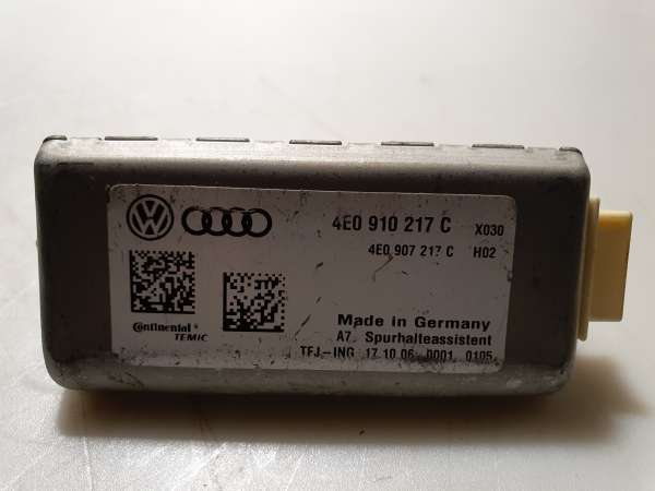 4E0910217C Steuergerät Spurhalteassitent mit Kamera für Audi
