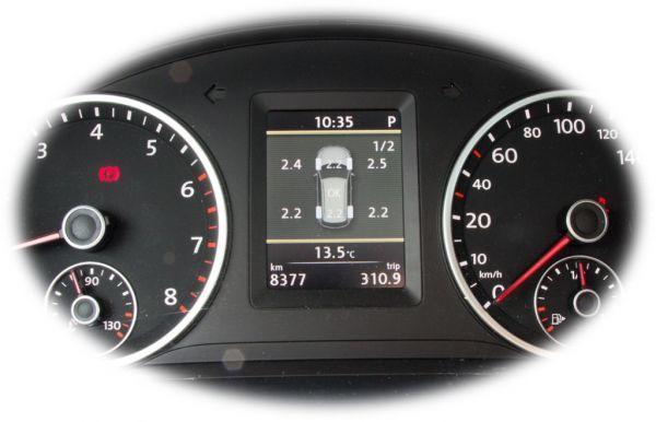 39119 - Reifendruck-Kontrollsystem (RDK) für VW Tiguan 5N Facelift