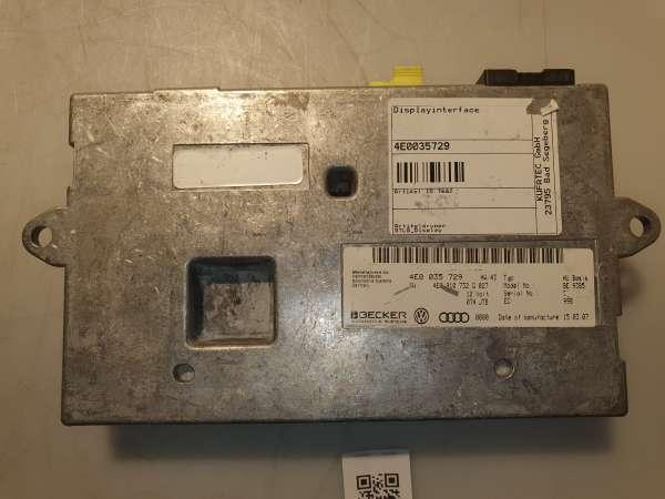 4E0035729 Interfacebox Display für Audi