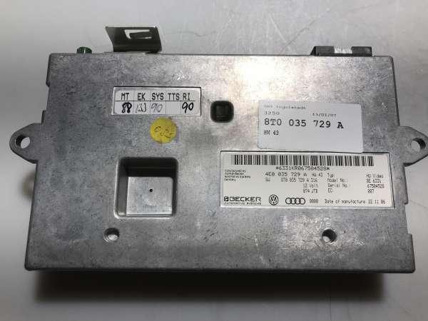 4E0035729A Displayinterface Für Audi