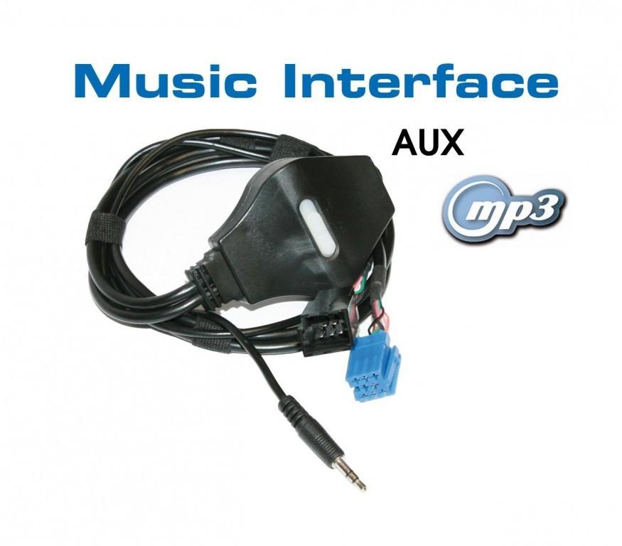 music interface klinke mini iso f r audi vw seat skoda. Black Bedroom Furniture Sets. Home Design Ideas